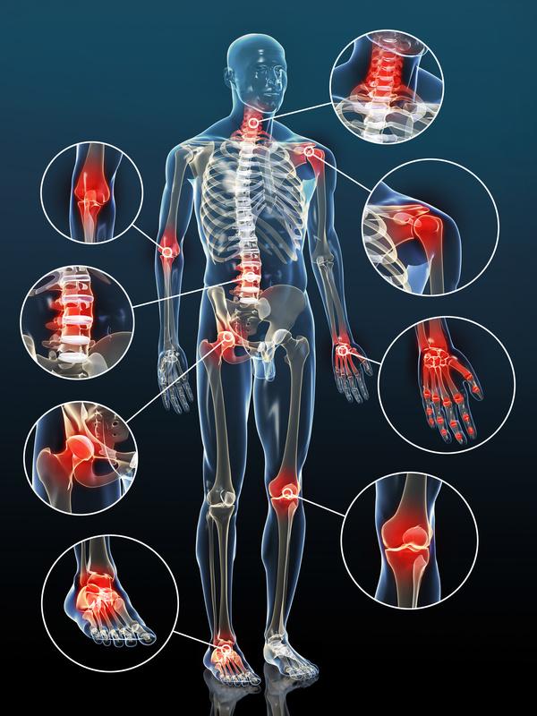 selenium and zinc help treat joint problems
